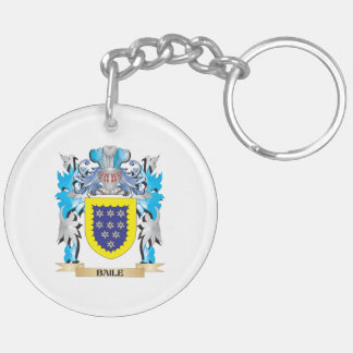 Baile Coat of Arms Acrylic Key Chains