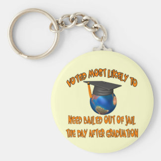Bailed Out Of Jail Key Ring