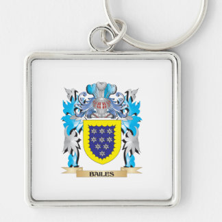 Bailes Coat of Arms Keychain