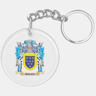 Bailes Coat of Arms Acrylic Keychain