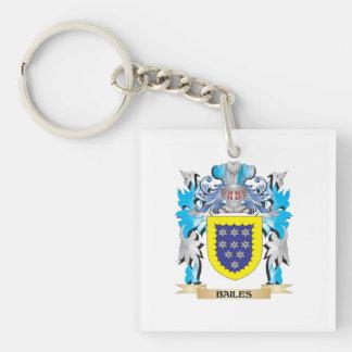 Bailes Coat of Arms Acrylic Key Chain