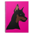 Bailey Min Pin Notebook