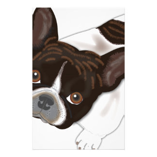 Bailey Pearl the Frenchie Dog Stationery