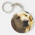 Bailey the Golden Retriever Keychain