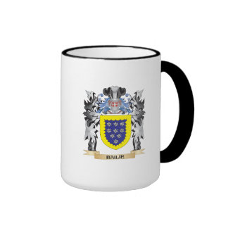Bailie Coat of Arms - Family Crest Ringer Mug