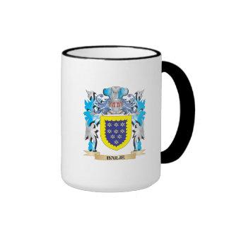 Bailie Coat of Arms Ringer Mug