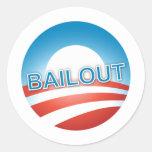 Bailout Classic Round Sticker