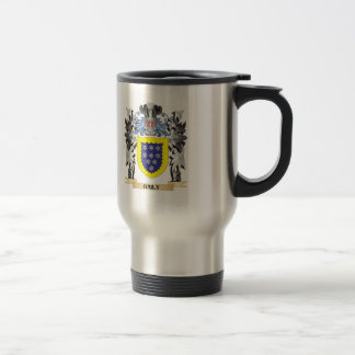 Baily Coat of Arms - Family Crest Stainless Steel Travel Mug