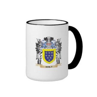 Baily Coat of Arms - Family Crest Ringer Mug