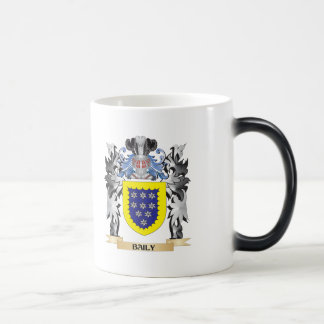 Baily Coat of Arms - Family Crest Morphing Mug
