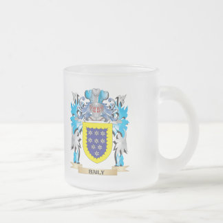 Baily Coat of Arms Frosted Glass Mug
