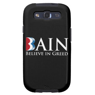 BAIN BELIEVES IN GREED png Samsung Galaxy SIII Case
