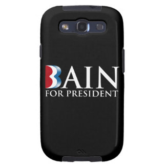 BAIN FOR PRESIDENT png Samsung Galaxy SIII Cases