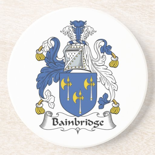 Bainbridge Family Crest Beverage Coasters
