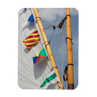 Bainbridge Island Wooden Boat Festival 3 Rectangular Photo Magnet