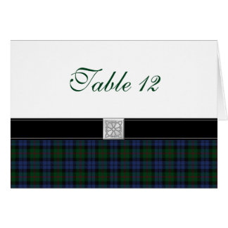 Baird Tartan Special Occasion Table Card
