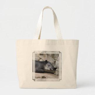 Baird's Tapir Canvas Bag