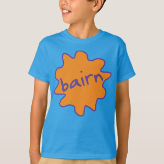 Bairn, Yorkshire, Northern Slang Kids' Tee Shirt