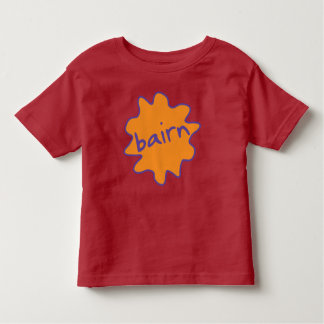 Bairn, Yorkshire, Northern Slang Toddler Tee
