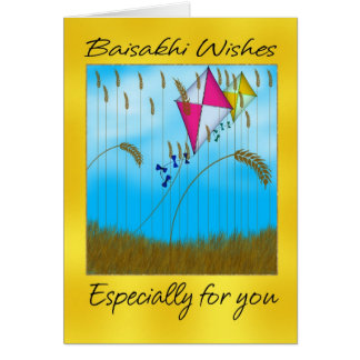 Baisakhi - Vaisakhi Greeting Card