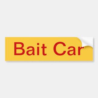 Bait Car Bumper Sticker