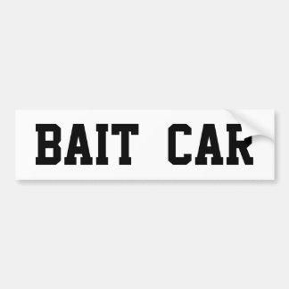 BAIT CAR BUMPER STICKER - CUSTOMIZABLE