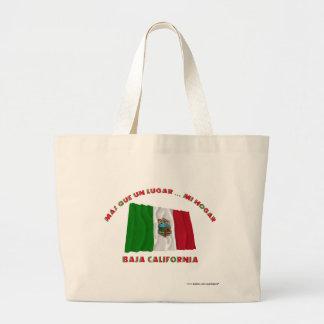 Baja California - Más Que un Lugar ... Mi Hogar Tote Bags