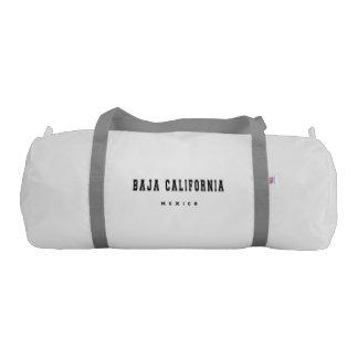 Baja California Mexico Gym Duffel Bag
