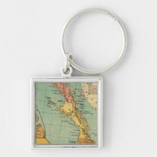 Baja California, Mexico Key Ring