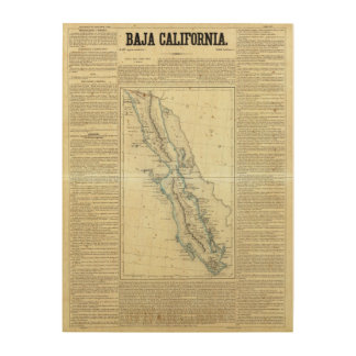 Baja California, Mexico Wood Print