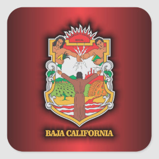 Baja California Square Sticker