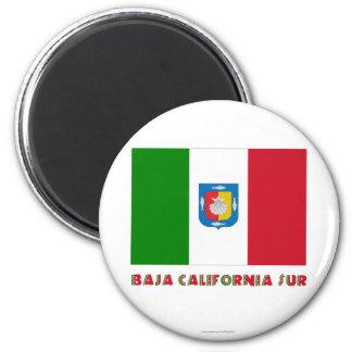 Baja California Sur Unofficial Flag Magnets