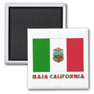 Baja California Unofficial Flag Magnet
