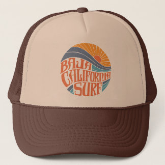 Baja Californian Surf Vintage Trucker Hat