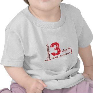 Baja maternal camiseta