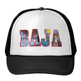 Baja postcard cap