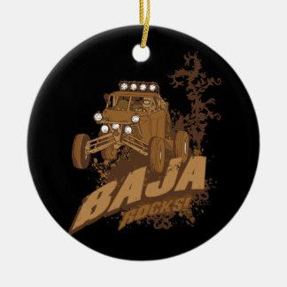 Baja Rocks! Christmas Ornament