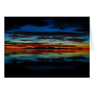 Baja Sunrise 01 Card