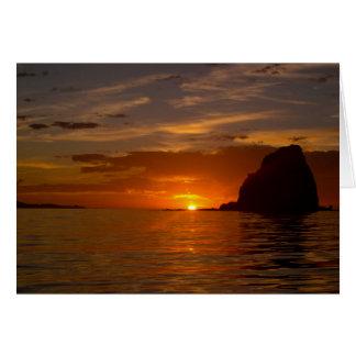 Baja Sunrise 02 Card