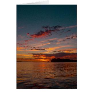 Baja Sunrise 03 Card