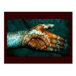 Bajidoo Henna Tattoo Work Post Card