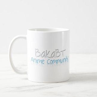 BakaBT Plain White Mug