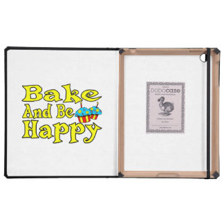 Bake & Be Happy iPad Folio Case