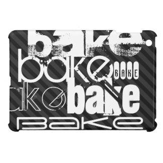 Bake; Black & Dark Gray Stripes Cover For The iPad Mini