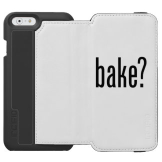 bake incipio watson™ iPhone 6 wallet case