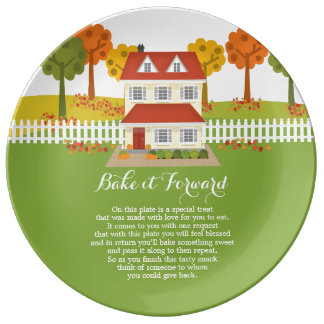Bake it Forward Thanksgiving Dinner Open House Plate