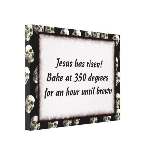 Bake Me A Jesus Gallery Wrap Canvas