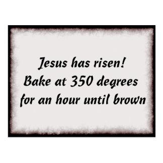 Bake Me A Jesus Postcard