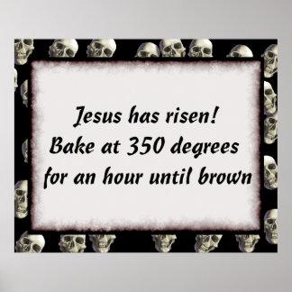 Bake Me A Jesus Poster