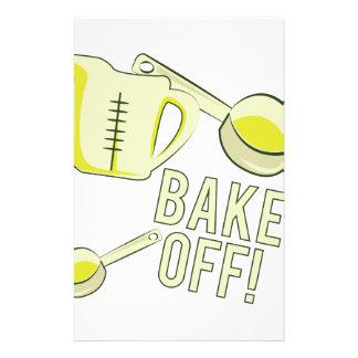 Bake Off Stationery Design